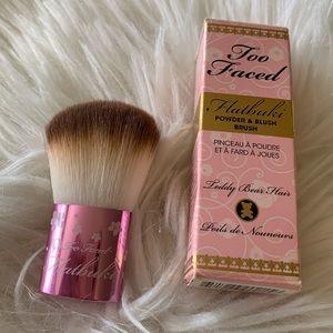 Limited Edition Too Faced Flatbuki Blush Brush